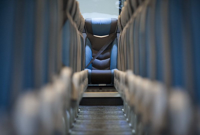 Los autocares podrán circular al 100% de su capacidad
