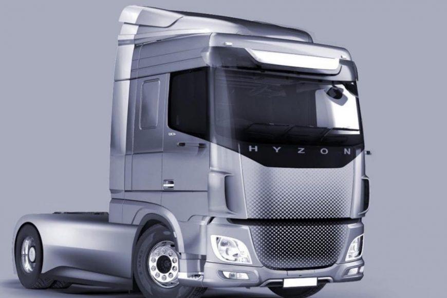Llega a Europa otro nuevo camión de Hidrógeno.